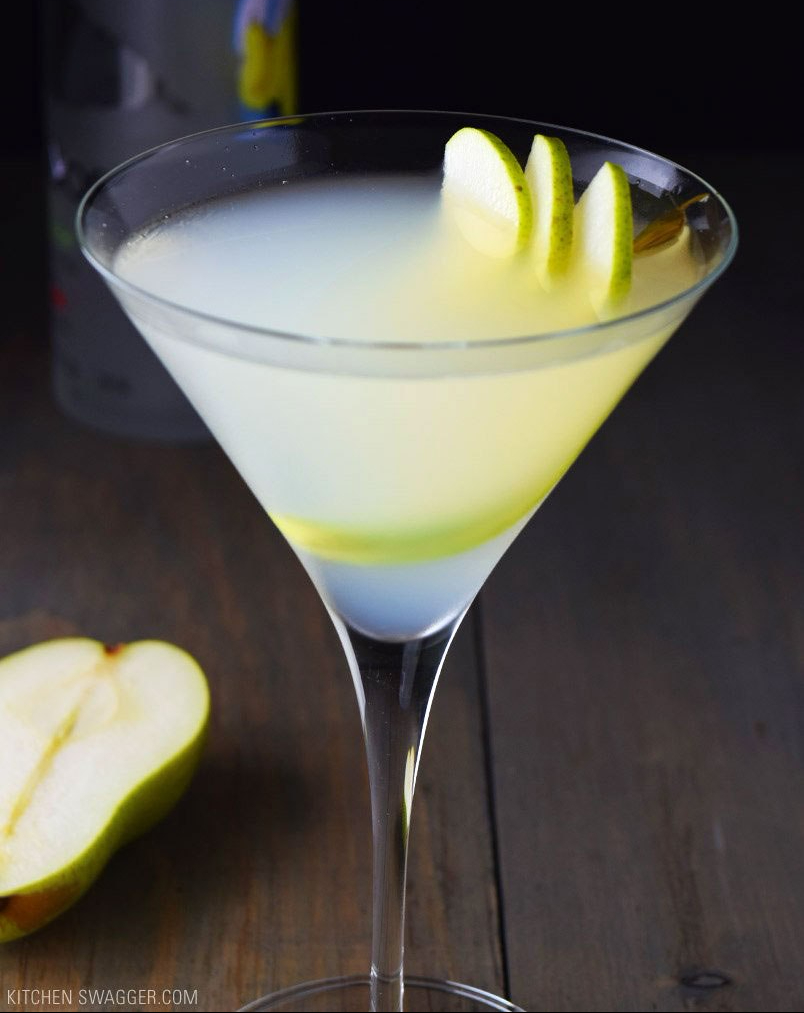 Pear & Elderflower Martini