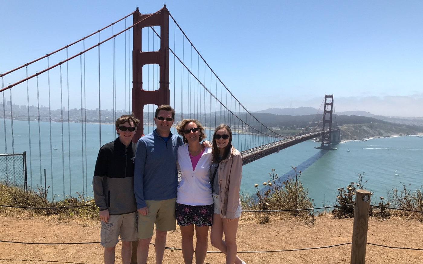Sid Group at Golden Gate Bridge