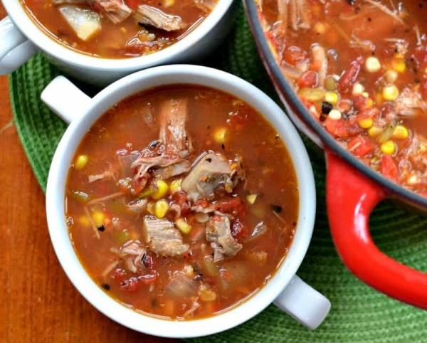 Smoked Pork Soup